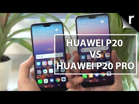 Huawei P20 vs P20 Pro: Are 3 lenses better?