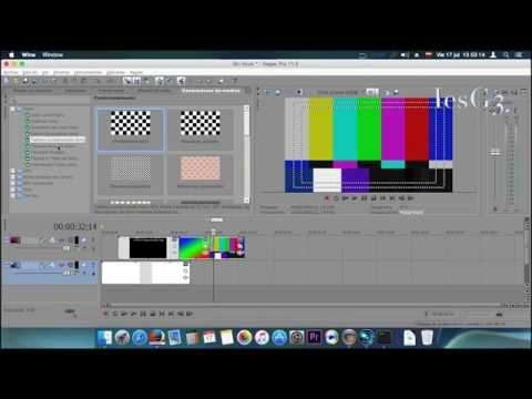 Sony Vegas Pro11 Primeros Pasos_Entorno Gráfico en Mac OS P1