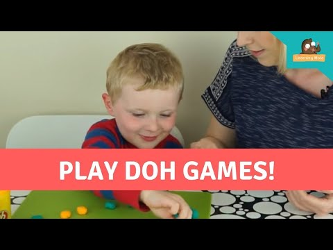Play Doh Games - Basic Math -  Subtraction for Kids -How To Subtract-Subtraction Games- KS1-Play-Doh