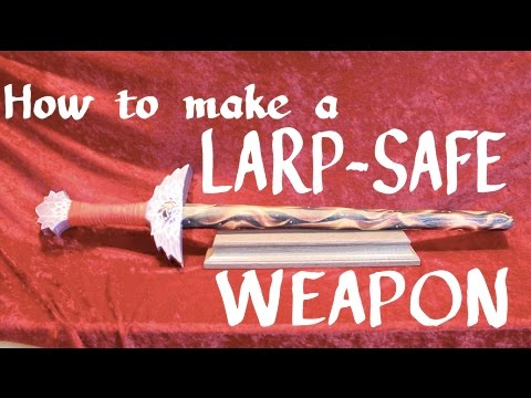 How To Make A Larp Sword- IFGS Method | LH EP 012