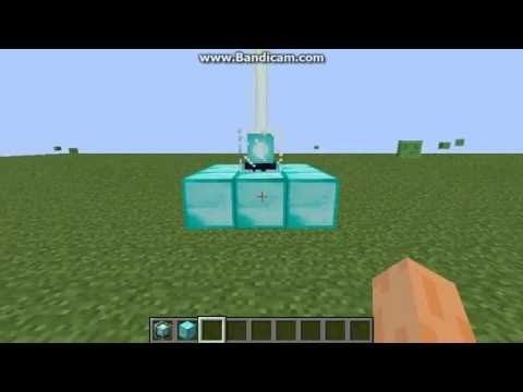 Minecraft How to make a laser beacon