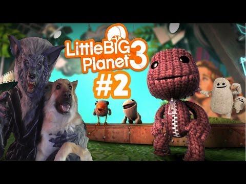 Little Big Planet 3 Story Mode (PS4) Part 2 - Blow Gun