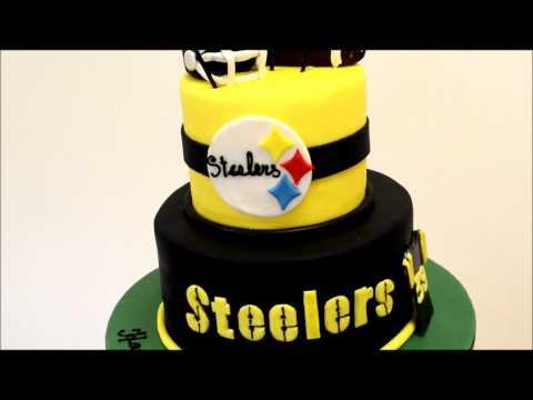 Pittsburgh Steelers Themed Cake - Football Theme Cake