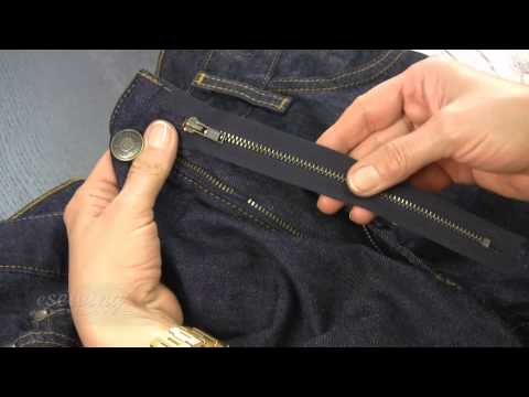 Replacing Fly Zipper - Introduction (FREE SAMPLE)