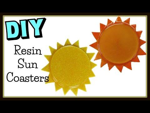 Sun Coasters DIY Project ~ Another Coaster Friday Craft Klatch