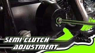 Cara setting nut clutch motor | Music Jinni