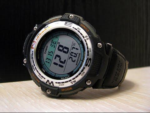 Casio SGW 100 Digital Compass Twin Sensor Sport Watch