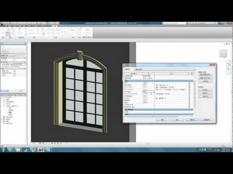 Revit tips - classic arched window family
