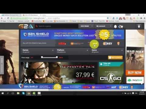 شراء ألعاب فيديو من موقع G2A بطرق دفع تونسية