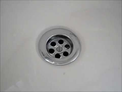 Bad smell from bath plug SOLVED