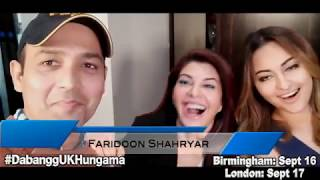 SUPER EXCITED Sonakshi Sinha and Jacqueline Fernandez joined by Salman Khan | Dabangg Tour UK