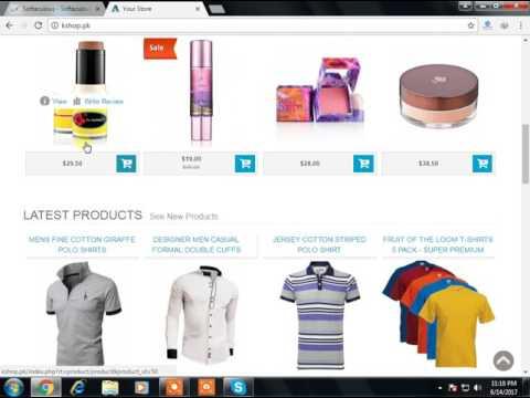 How To Create Own Shopping Website In Hindi & Urdu