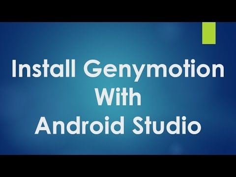 Android tutorial for beginners - 123 - Install and configure Genymotion with Android Studio.