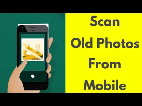 How to Scan Old Photos with Mobile phone Camera at High resolution