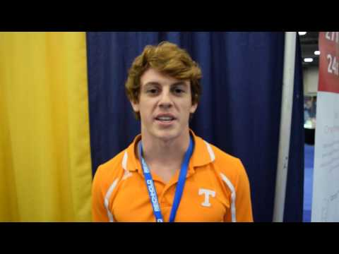 University of Tennessee engineering student, Jimmy Bray, at CAMX