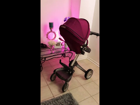 Converting a Stokke Stroller to a double stroller