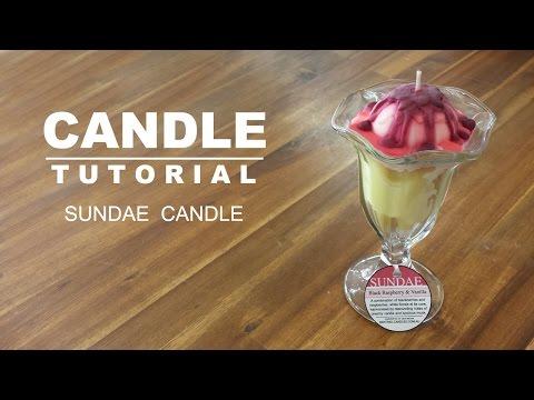Sundae Candle Design