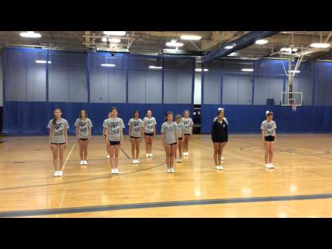Extreme routine (cheer/dance/stunts)