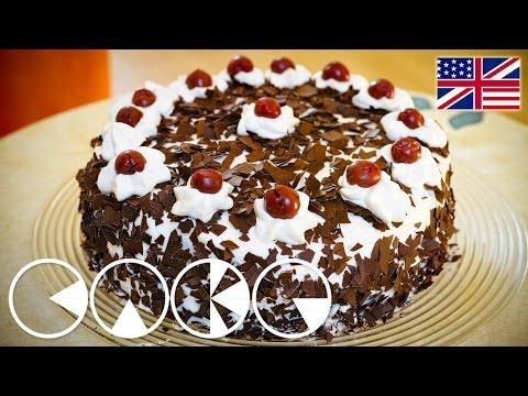 BLACK FOREST CAKE Recipe in 4K (Ultra HD)