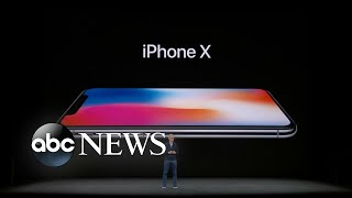 Apple unveils new iPhone X