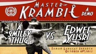 Master of Krambit | JKT1 |  Edwel Yusri the Karambit Master