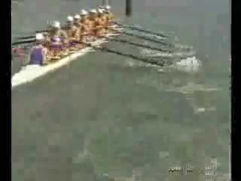 Funniest Crew Crash EVER - St. Ignatius Stop Rowing!