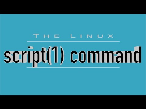 The Linux 'script' Command: Record Your Shell Sessions