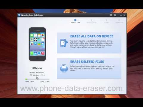 How to Clear Up, Remove, Delete, Erase All or Deleted iPhone 7/6S/6/5S/5C/5/4S Data Without Restore?