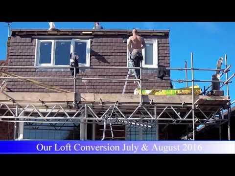 Loft Conversion Start to Finish Timelapse