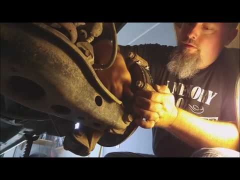 2010 Toyota RAV4 Rear Brakes and Rotor Replacement