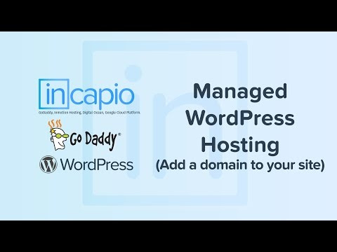 Add a domain to your site | GoDaddy Managed WordPress Hosting 2018.