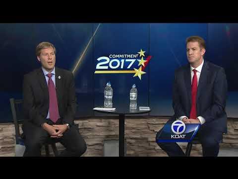Tim Keller and Dan Lewis face off in debate