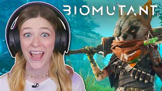 I Changed My DNA To Become A Great Martial Artist In Biomutant // Sponsored By THQ Nordic