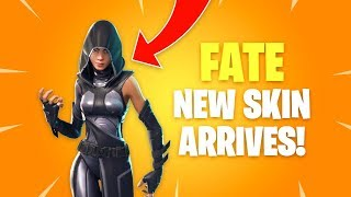 Fate Skin Arrives! Fortnite Battle Royale Daily Items Update