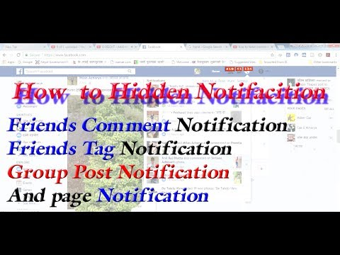 Turn off Notification  likes, comments  and tagged in facebook Friend post