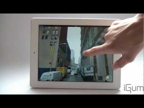 Street View auf dem iPad, iPhone und iPod Touch