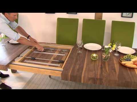Table Mechanisms   Pedestal   Rectangular   Extending Dining Tables 2
