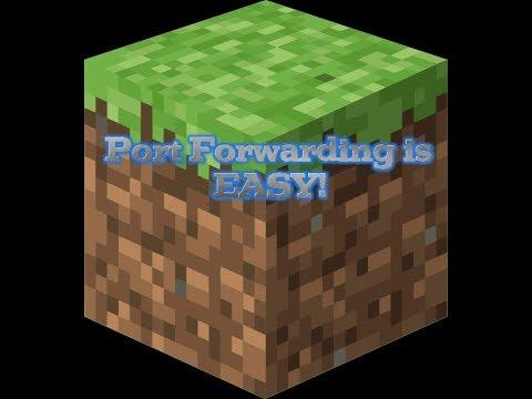 Port Forwarding is EASY! | Minecraft Server Setup | Port Forwarding |