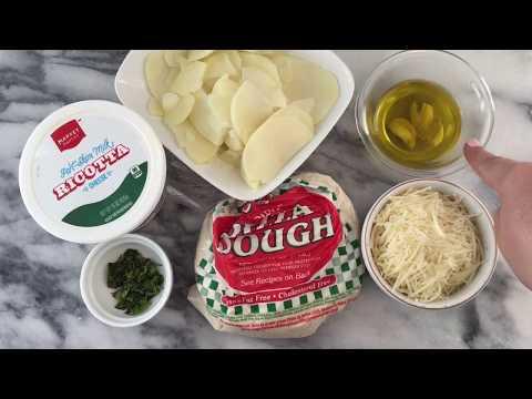 Ricotta Potato Pizza | Rustic