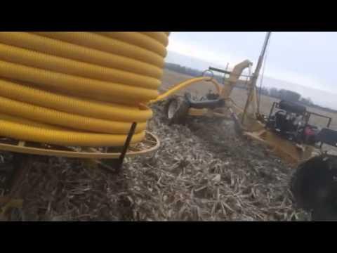Tile Plow - Stuck