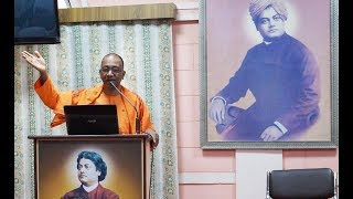 How to Overcome Fear the Vivekananda Way by Sw. Mahamedhanandaji.