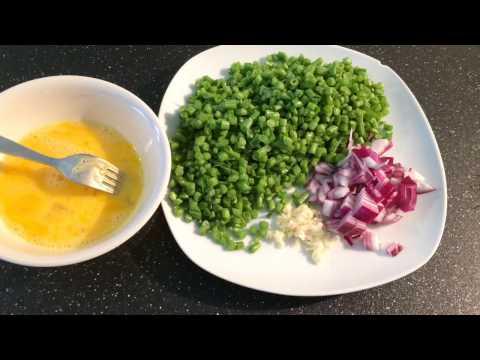 Green Beans & Eggs Stir Fry