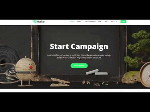 Backer - The crowdfunding and fundraising WordPress theme (Overview)