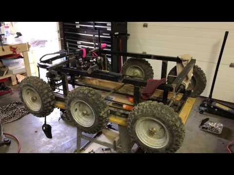 Mini skid steer utility thingy build log1