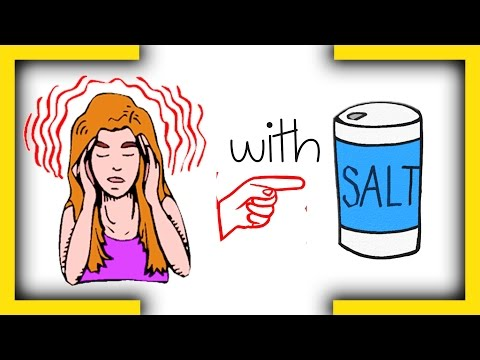 How To  Stop A Migraine With Salt immediately