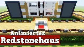 Wie Baut Man Ein Animiertes Redstonehaus In Minecraft Mine - Minecraft pe haus bauen deutsch