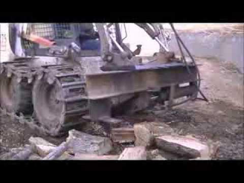 016 RSW Homemade Skid Steer Log Splitter