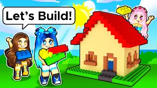 Playing with LEGO Blocks in Roblox!