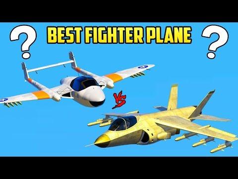 GTA Online - BEST FIGHTER PLANE GUIDE! (Pyro vs Hydra vs Lazer vs More)