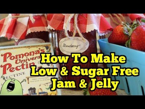 How to Make LOW & SUGAR FREE JAM with Pomona's Pectin